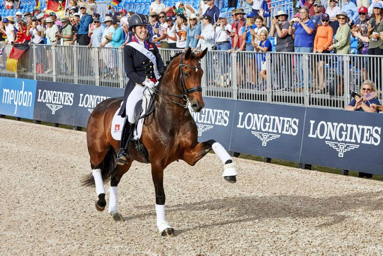 DRESSAGE: Charlotte Dujardin eliminated at European Championships