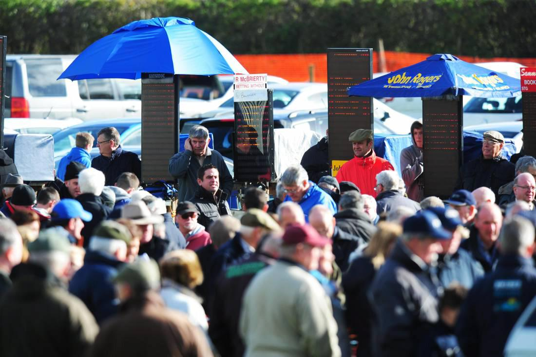 BERNARD BARRY: Where are all the on-course bookmakers gone?