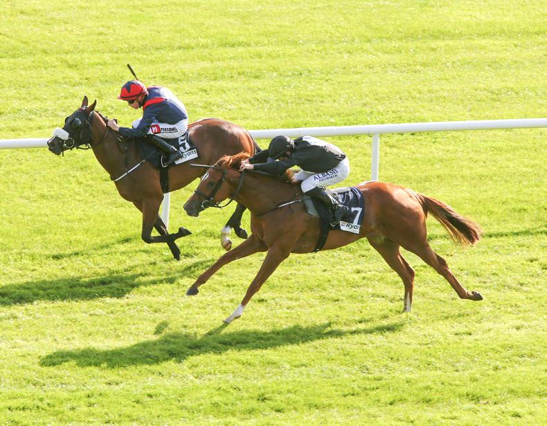 VIEW FROM ABOVE: Juvenile success for Stonethorn