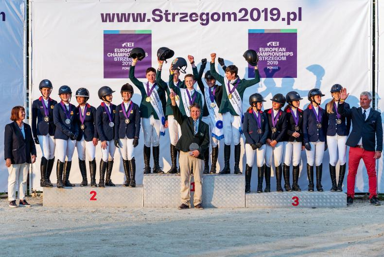 SHOW JUMPING: Fantastic pony riders win gold in Poland