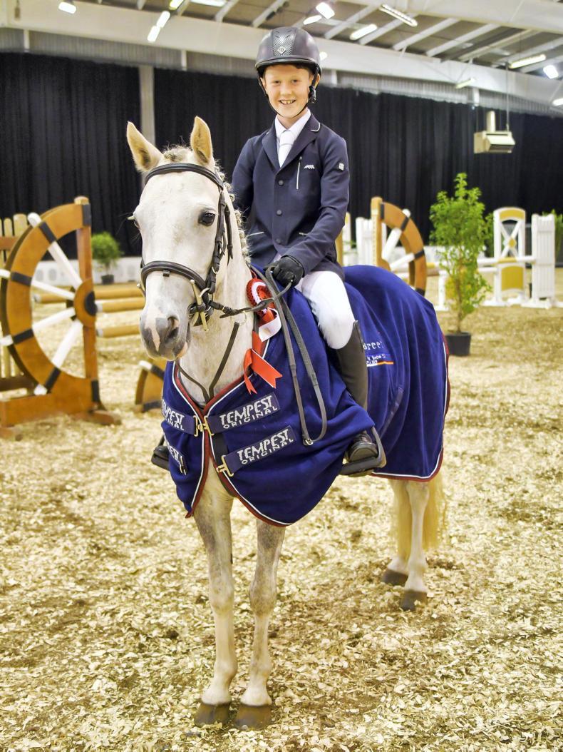 MILLSTREET HORSE SHOW:  Talented pony riders shine at Millstreet