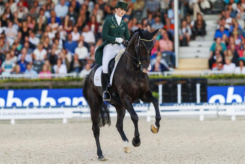 DRESSAGE: 'I don't think we'll ever have another week like it' - Reynolds