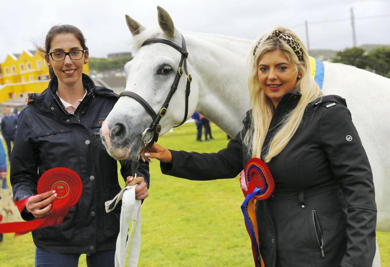 CLIFDEN SHOW: Princess Katie writes her name in history books
