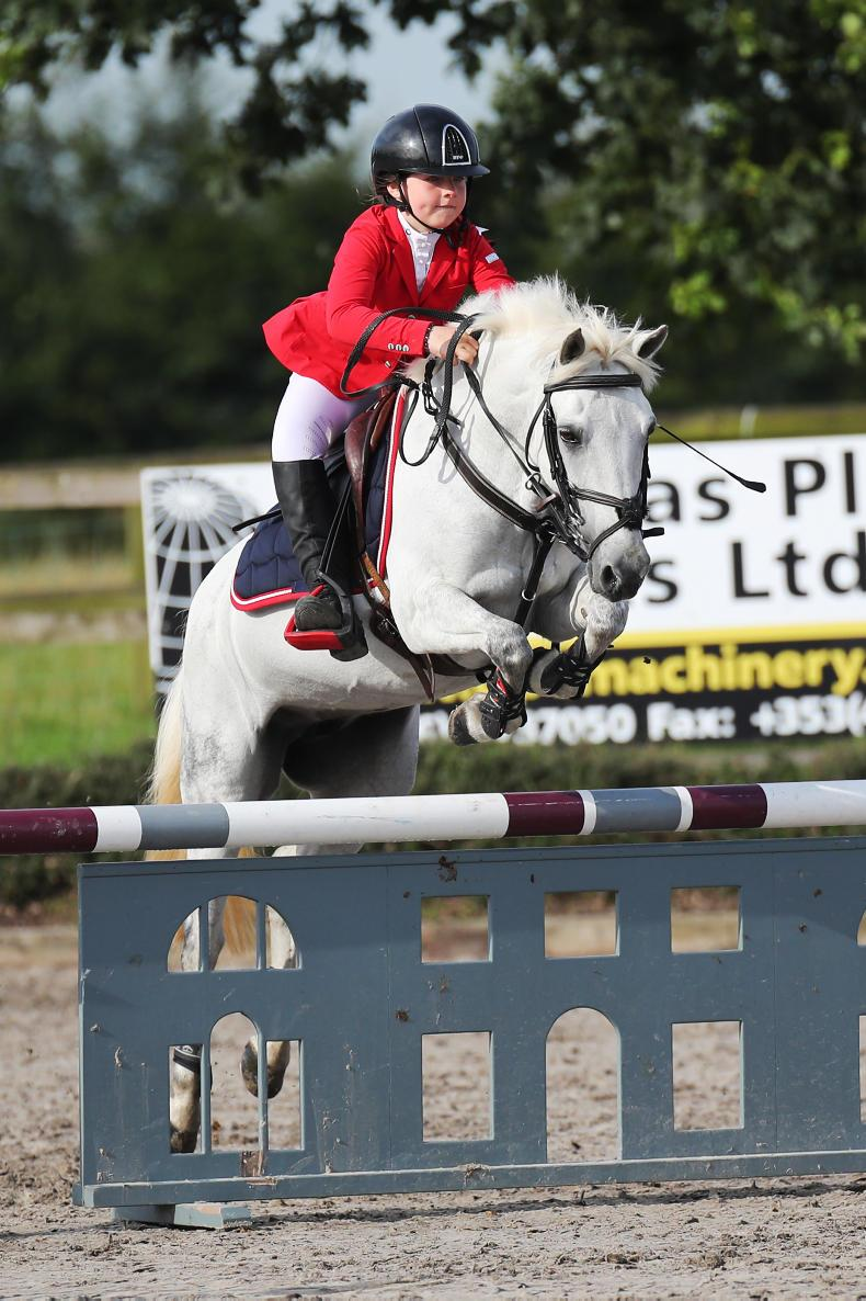 SHOW JUMPING:  Pony champions galore crowned