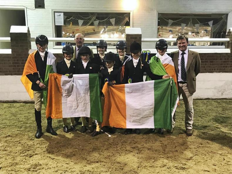 INTERNATIONAL: Brilliant display by the Irish at Grantham