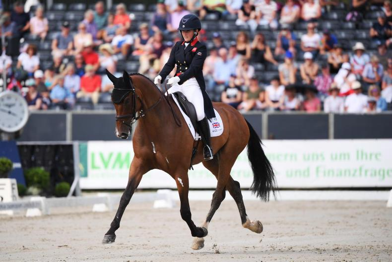 EVENTING: Collett leads the way and Ireland are in sixth place after day one