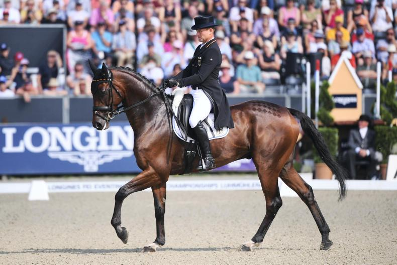 NEWS: Ireland fifth after dressage in Luhmühlen