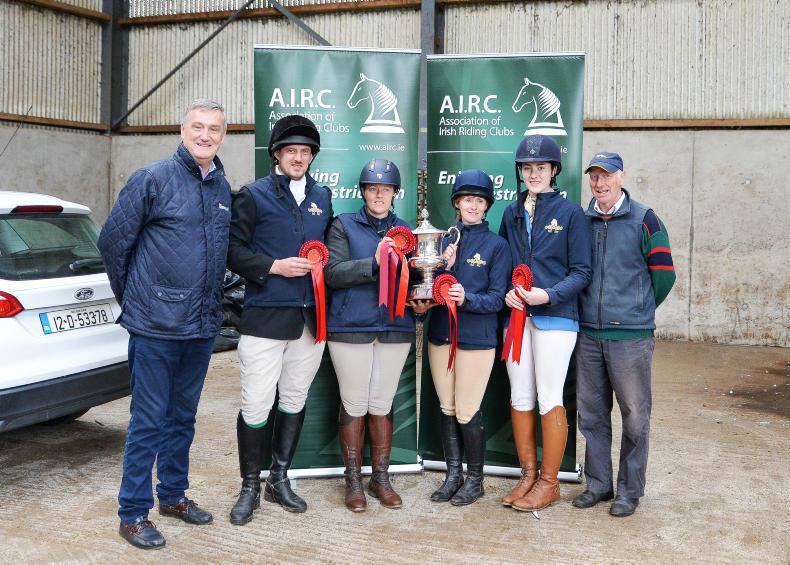 AIRC EVENTING: Monaghan club make history
