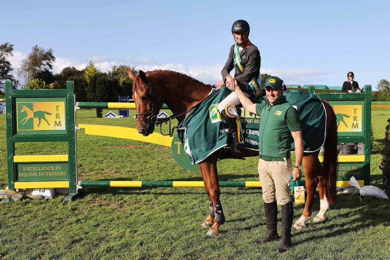 SHOW JUMPING: Another championship title for Connors