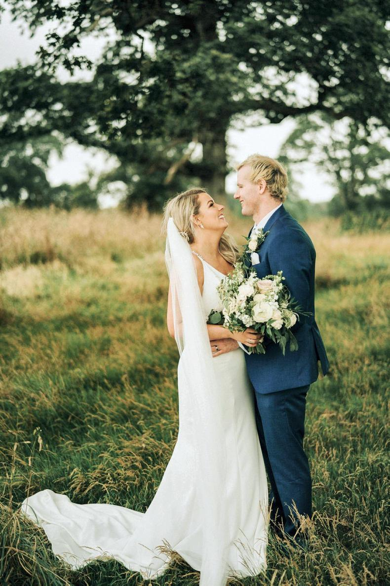 PONY TALES:  Wedding bells for Maeve and David!