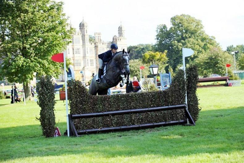 BURGHLEY: Rock ABC second in Burghley young event horse