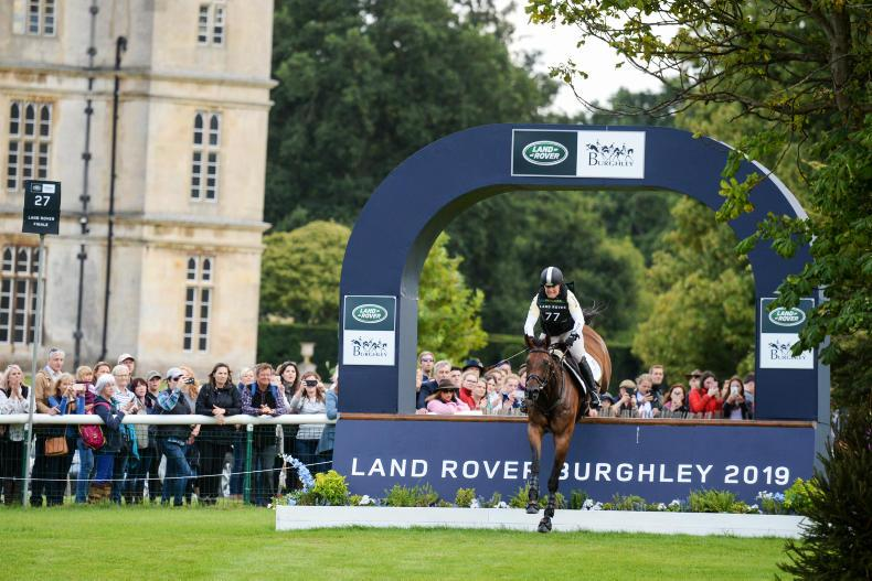 EVENTING:  Pippa Funnell wins Burghley on Irish-bred horse