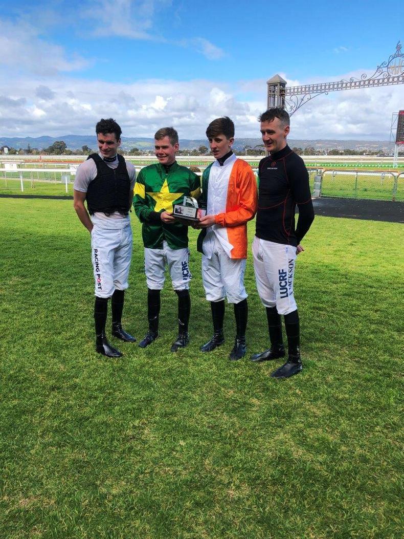 AUSTRALIA: Irish jockeys triumph