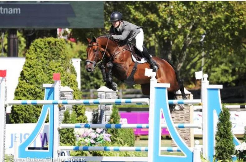 SHOW JUMPING: Sweetnam and Hanley score Irish one-two in New York