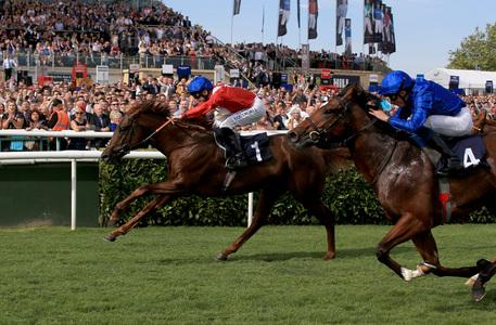 Threat delivers on undoubted promise in Champagne Stakes