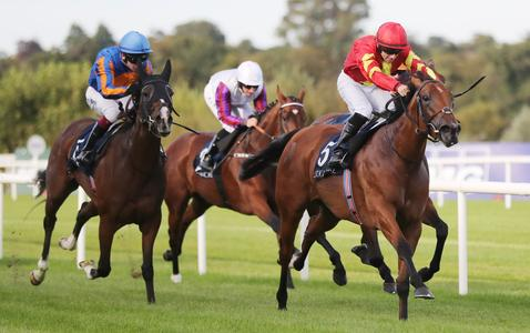 Iridessa proves irresistible in Matron Stakes