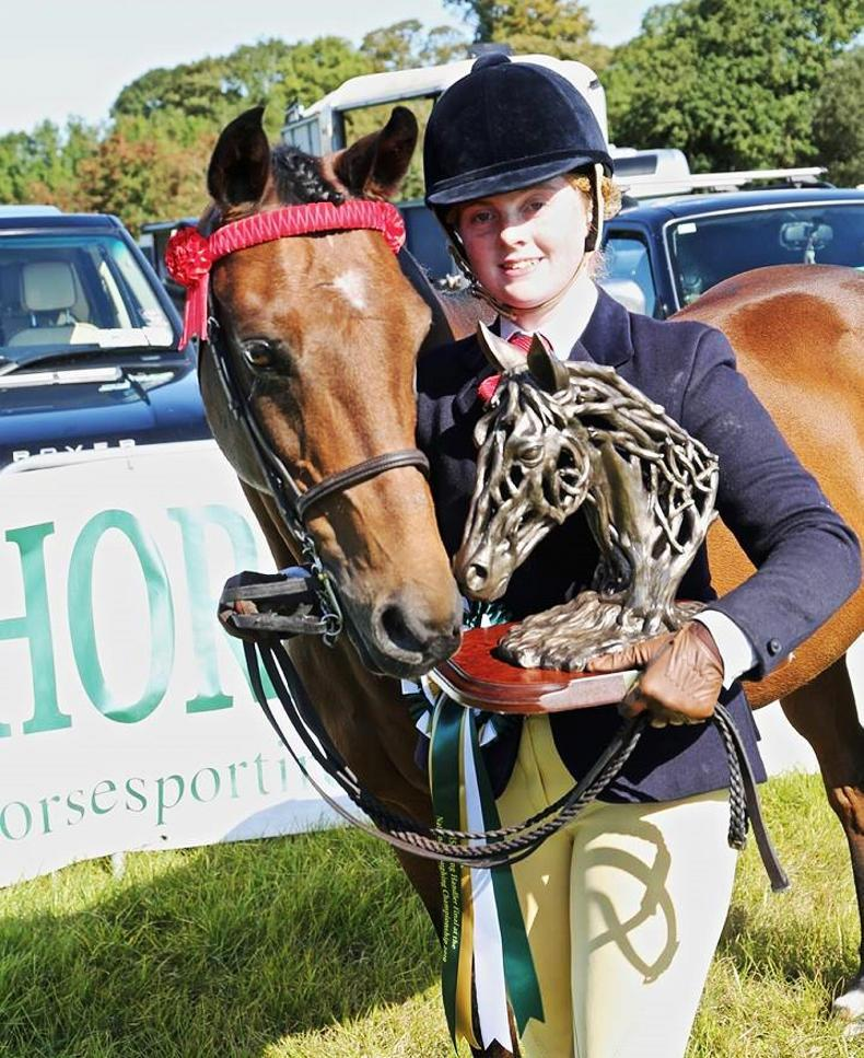 HSI YOUNG HANDLERS: Sheridan and McGrath land the spoils