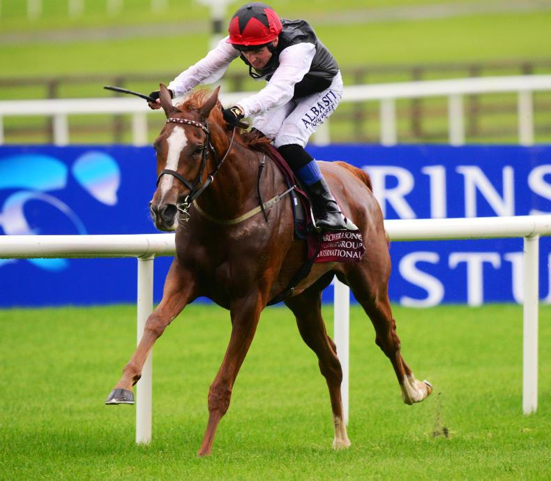 CURRAGH SUNDAY: Search For A Song makes history