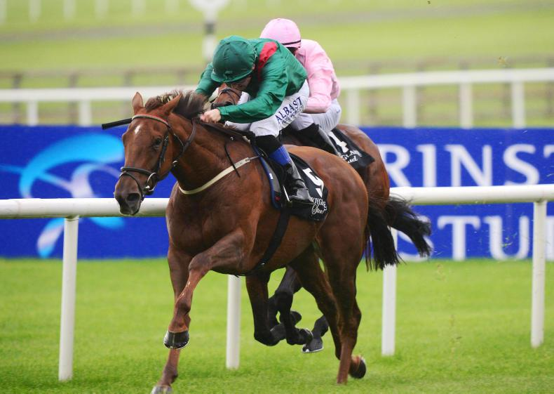 CURRAGH SUNDAY: Tarnawa tops Weld's weekend
