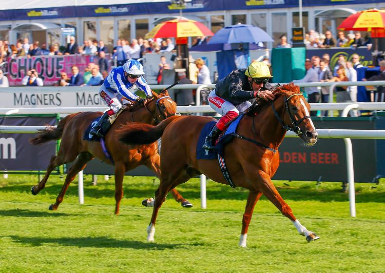 SIMON ROWLANDS: Stradivarius at his best in Doncaster Cup