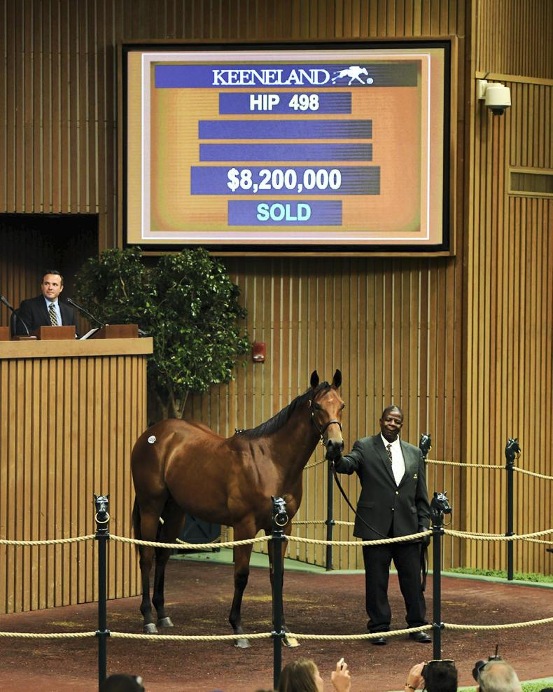 KEENELAND SEPTEMBER YEARLING SALE: Strong trade to the end at Keeneland