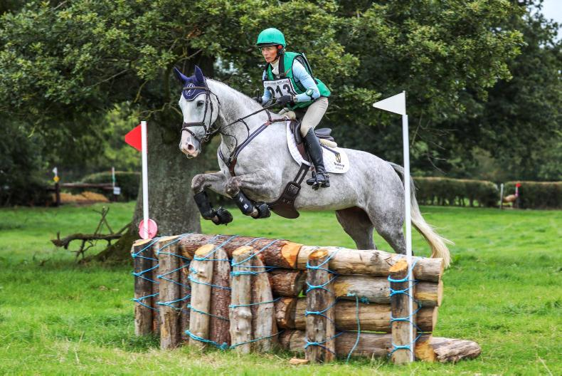 EVENTING:  Ennis dominates with treble