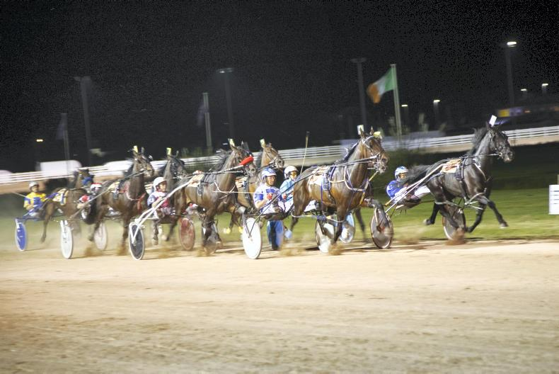 HARNESS RACING: Irish eyes are smiling in Wales