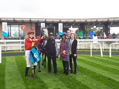 Speak In Colours in Foret picture following Curragh success