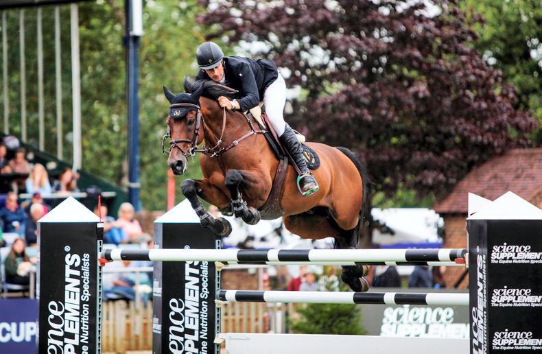 INTERNATIONAL: Simpson gallops to Queen Elizabeth II Cup victory