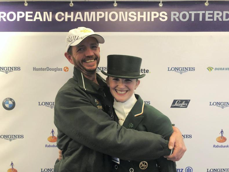 DRESSAGE:  Reynolds now 12th in the world
