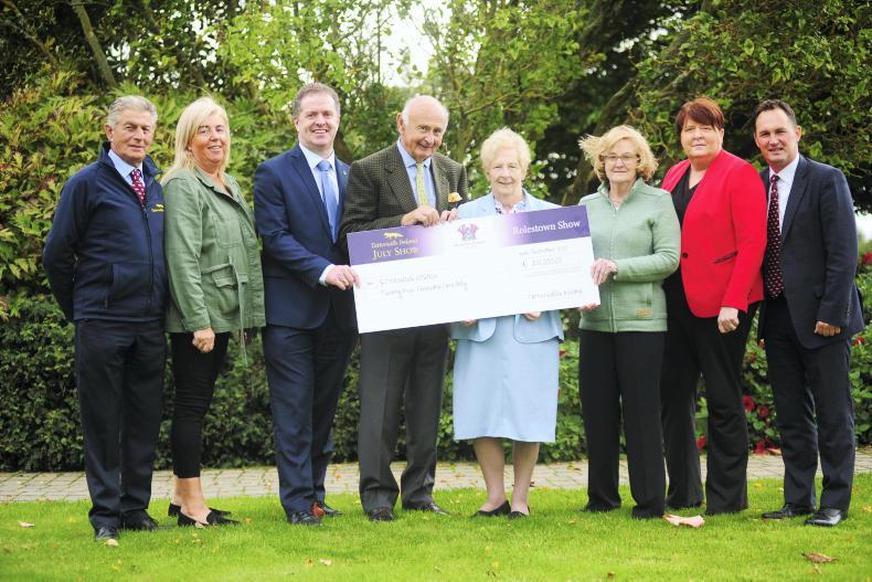 NEWS:  Tatts July donates €25,000 to St Francis Hospice
