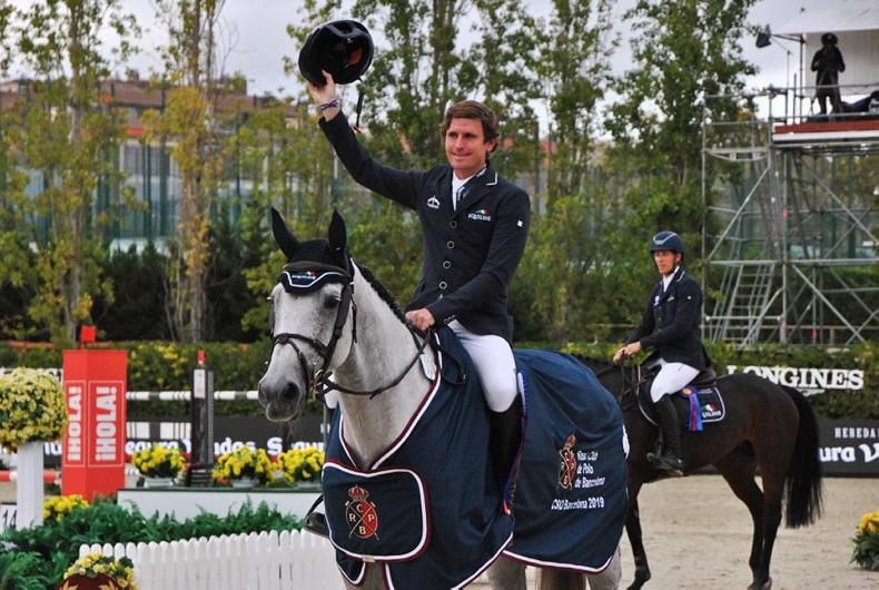 SHOW JUMPING: Darragh Kenny wins Queens Cup