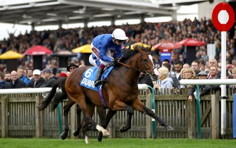 Military marches to Autumn Stakes glory