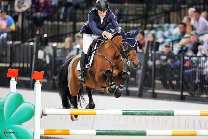 SHOW JUMPING:  Swail wins $134,000 Grand Prix