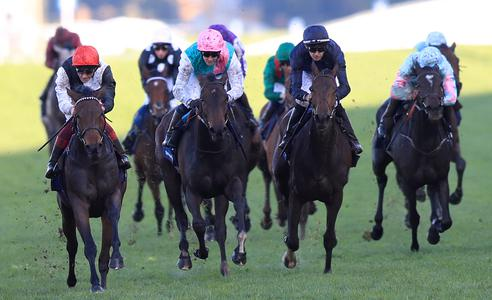 Star Catcher and Dettori dig deep in Fillies & Mares