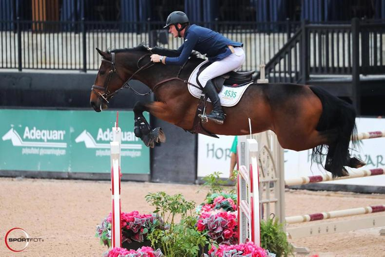 SHOW JUMPING: Coyle and Moloney land 1-2 in Tryon Grand Prix