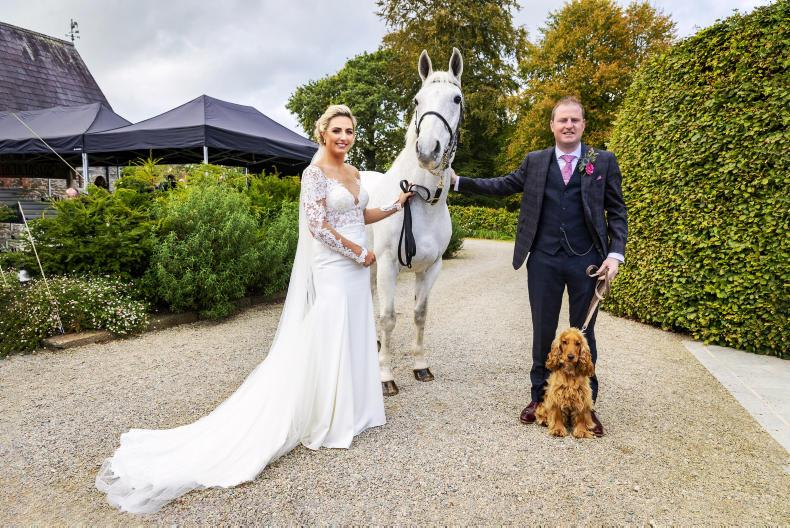 PONY TALES:  Wedding bells for Victoria and Niall