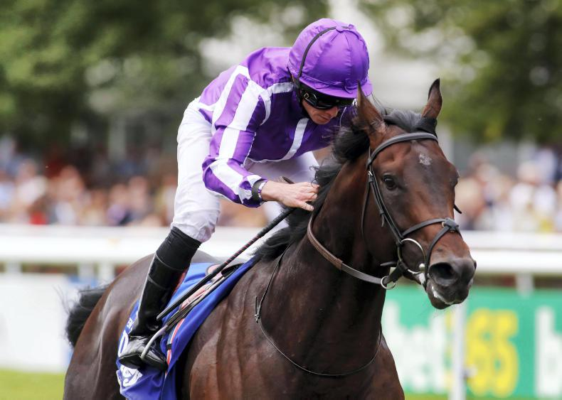 Ten Sovereigns retired to Coolmore Stud