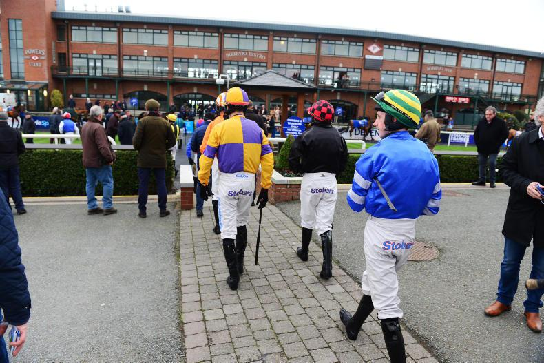 HEALTH: Race day catering guidelines for jockeys at Irish racecourses launched