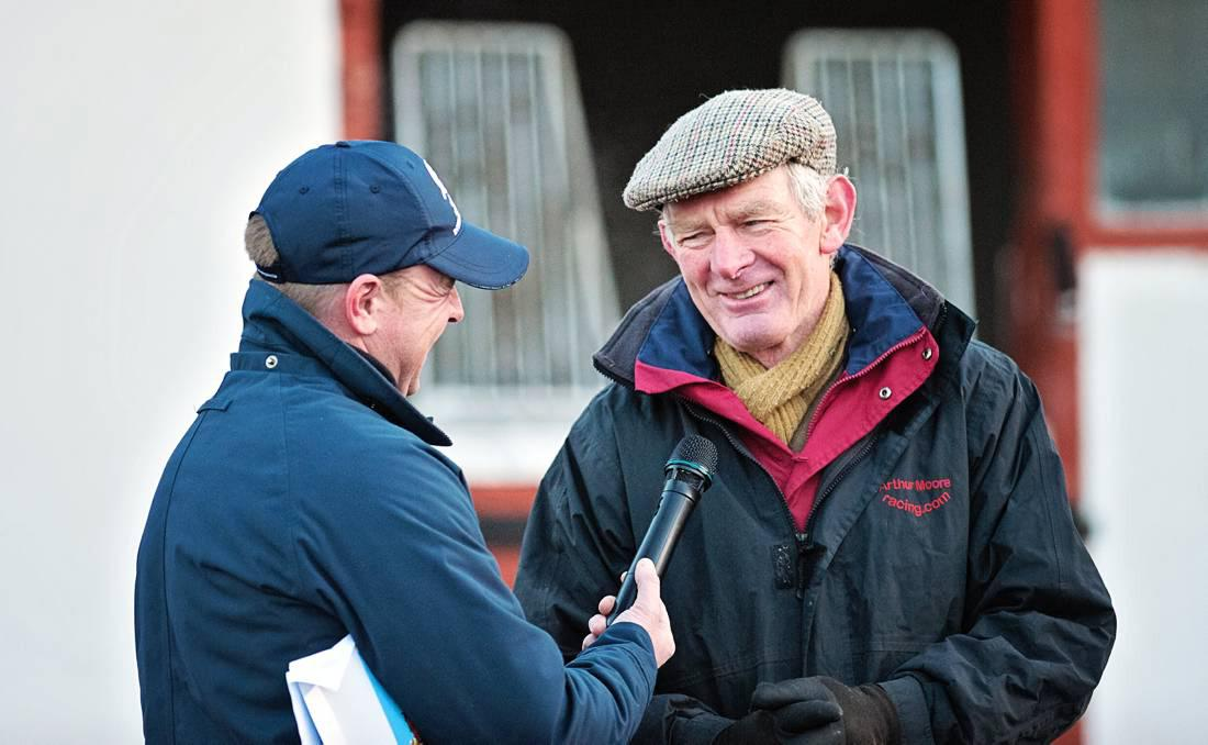 TALKING TRAINER: Arthur Moore takes aim at top hurdle prize