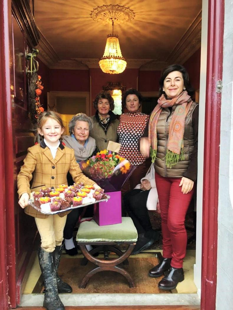 PONY TALES:  Big celebration for two birthday girls