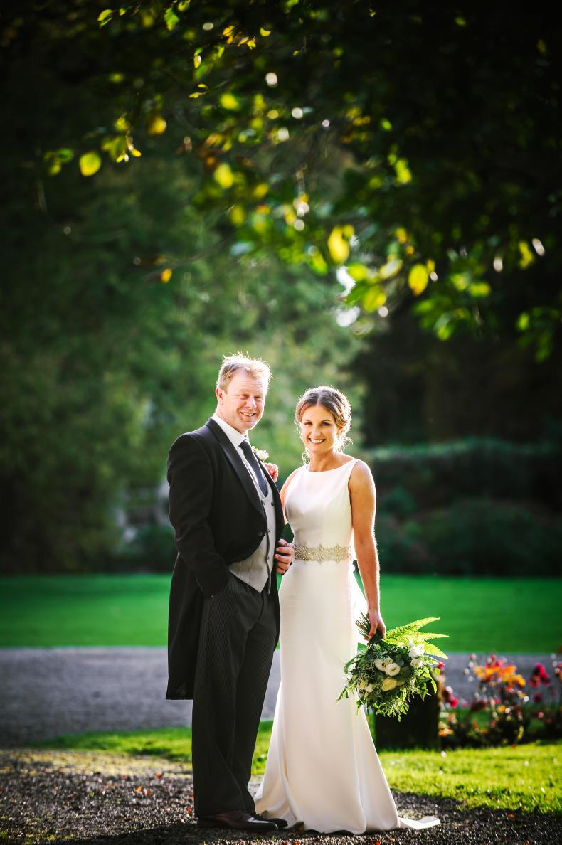 PONY TALES:  Wedding bells for Ronan and Laura!