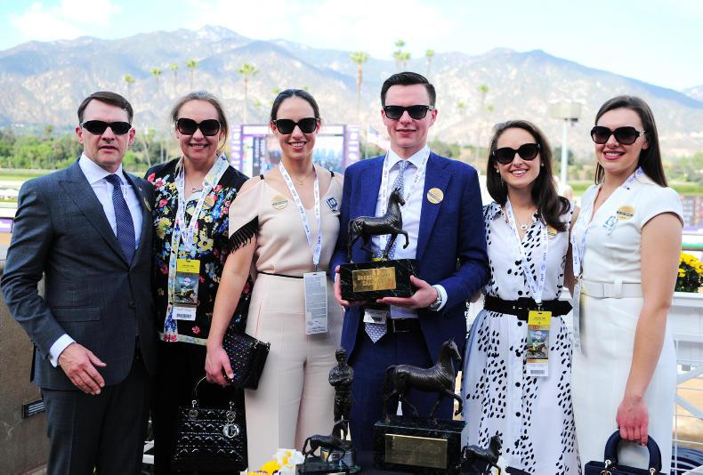 PICTURE DESK:  From Down Royal to Santa Anita