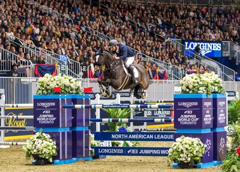 SHOW JUMPING:  Allen wins Toronto World Cup Grand Prix