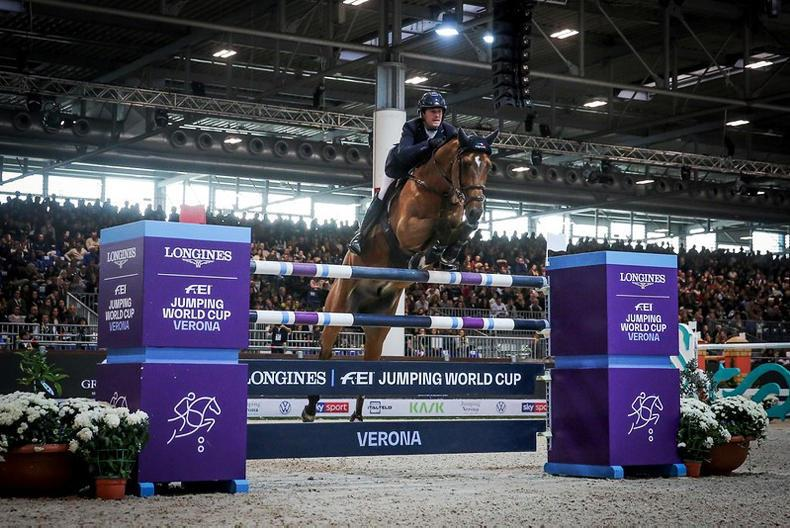 SHOW JUMPING:  Kenny second in Verona World Cup