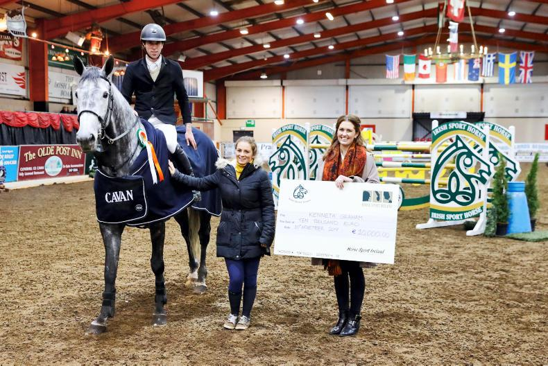 SHOW JUMPING: Graham wins €10,000 HSI bonus