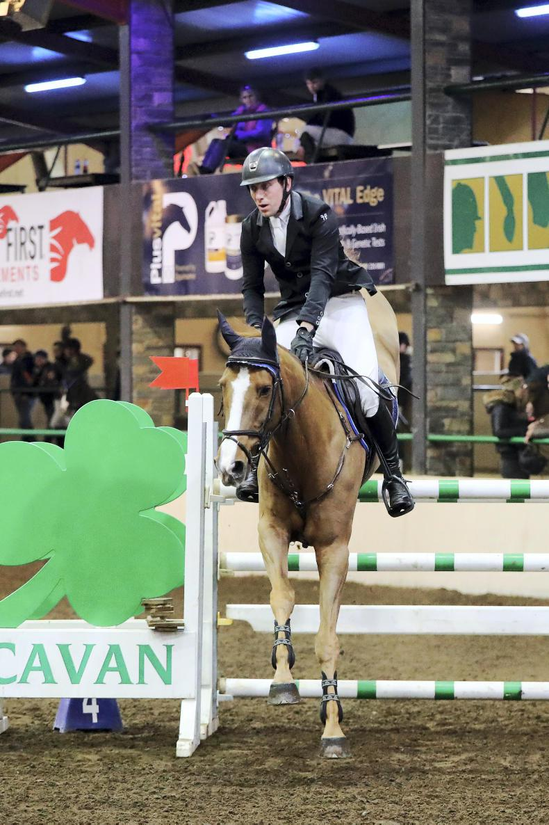 CAVAN INTERNATIONAL SHOW:  Curran defies all to win with Oliver Twister