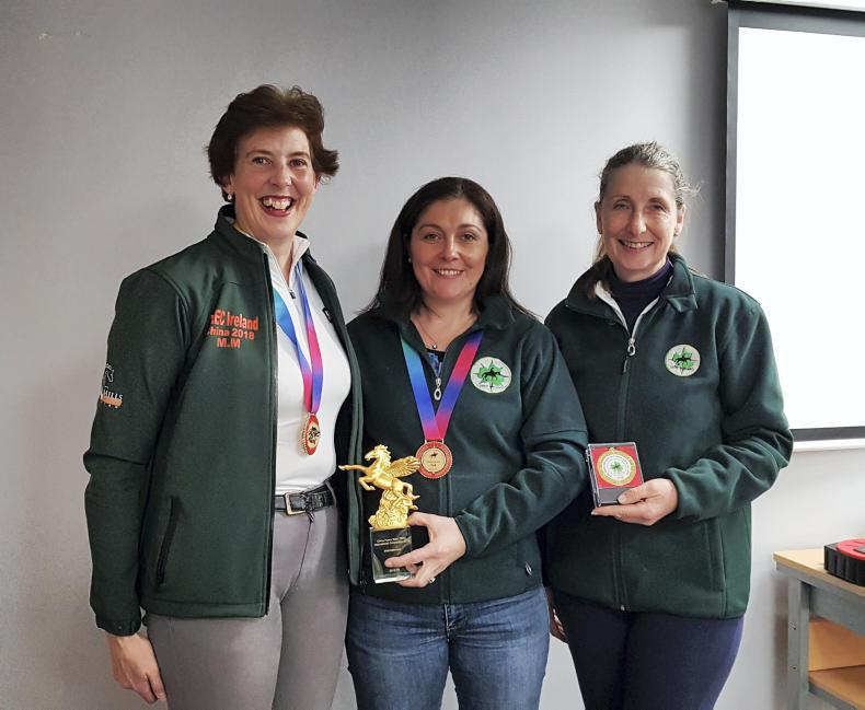 PONY TALES:  Medals for Mairead and Elaine