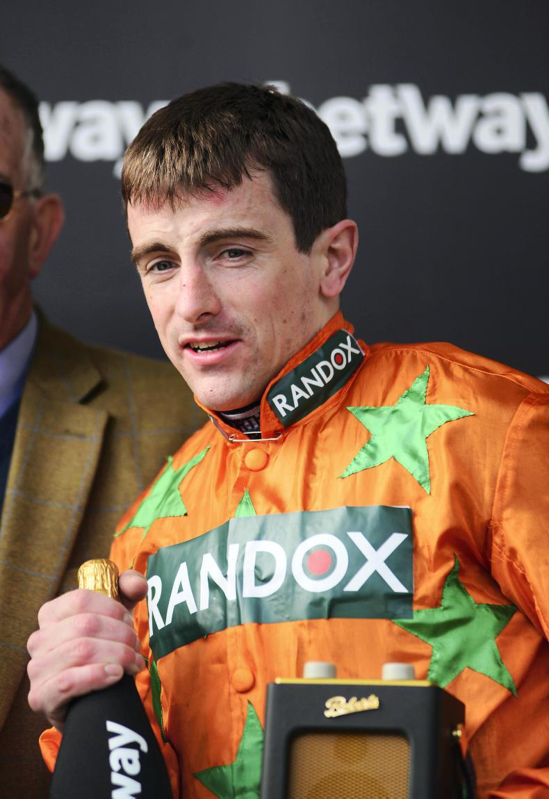 DONN McCLEAN:  British jockeys' championship