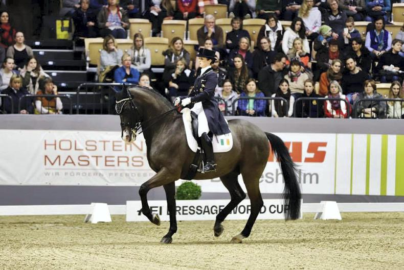 DRESSAGE: Judy Reynolds finishes sixth in German World Cup
